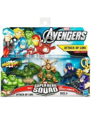Baby Loki Kostüm - Avengers Attack Of