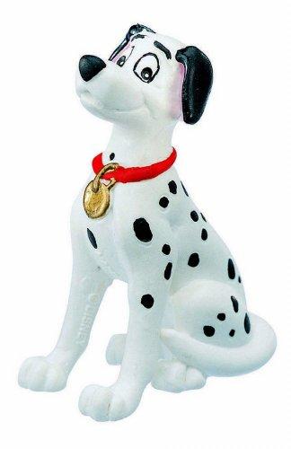 Bullyland 12513 - Spielfigur, Walt Disney 101 Dalmatiner, Pongo, ca. 6,5 cm