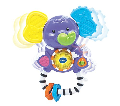Image of Vtech Baby Shake and Sing Elephant Rattle Toy