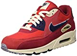 NIKE Herren Air Max 90 Premium Se Sneakers, Mehrfarbig (University Red/Provence Purple 600), 44.5 EU