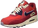 Nike Herren Air Max 90 Premium Se Fitnessschuhe, Mehrfarbig (University Red/Provence Purple 600), 44 EU