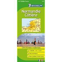 Carte ZOOM Normandie Ctire
