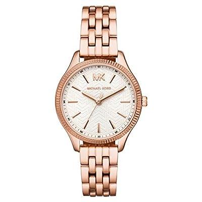 Michael Kors Reloj Analógico para Mujer de Cuarzo con Correa en Acero Inoxidable MK6641