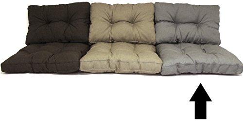 Madison Loungekissen für Polyrattan Lounge Florance 60x60 cm Basic Grey