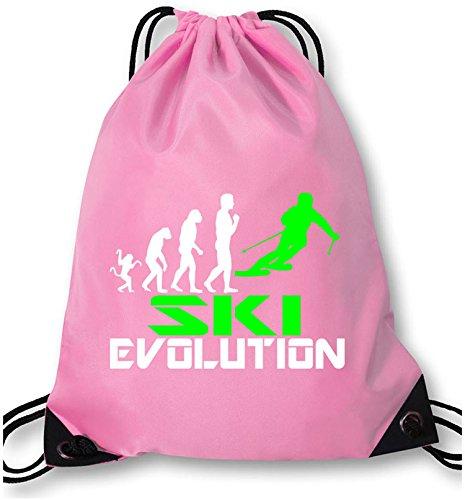 EZYshirt® Ski Evolution Turnbeutel (Snowboard Hose Evolution)