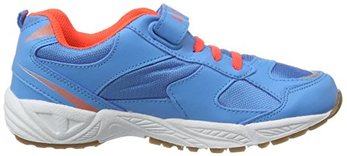 Lico  Bob VS, Chaussures indoor mixte enfant Bleu - Blau (Blau/Orange)