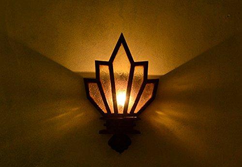 Modernes Wandbeleuchtung Wandleuchten Vintage Loft-Wandlampen Antik Deko Design Wandbeleuchtung Retro- Dekorative Wandlampe Der Asiatischen Massivholzwandlampe, Wohnzimmerbarkaffee-Barwandlampe - Badezimmer Asiatische