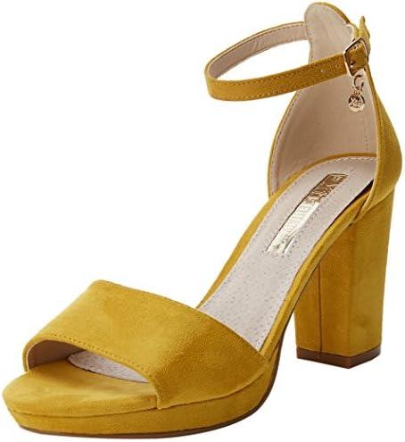 XTI 30686, Zapatos con Tacon y Correa de Tobillo para Mujer