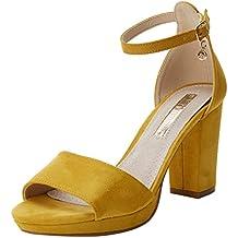 27dace9e95b Amazon.es  zapatos color mostaza mujer