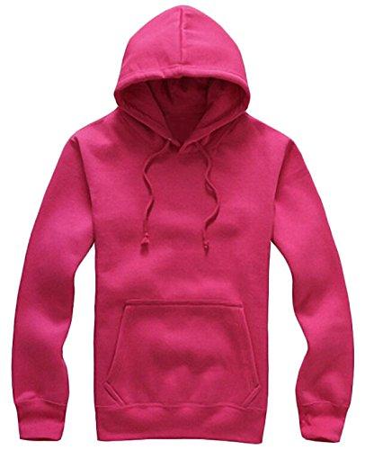 EKU FASHION Herren Kapuzenpullover Small Gr. L, rose Browning-camo Sweatshirt