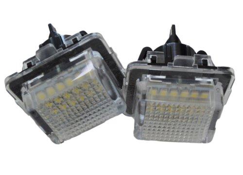 Handycop® Kennzeichenbeleuchtung für W204 S204 C204 C-Klasse / W212 S212 C207 E-Klasse / W221 S-Klasse / W216 CL - Xenon Optik mit Zulassung
