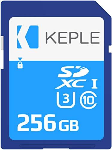 256GB SD Card Class 10 Speicherkarte Kompatibel mit Sony Alpha 7s, a5300, a6300, a6400, a6500, a7 II / a7 III, a7R II / a7R III, a7S / a7S II, a9, NEX-7 / NEX-C3 Kamera | U3 SDXC 256 GB C3-kamera