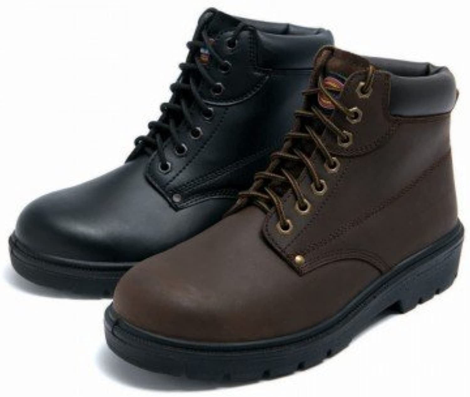 Janitorial Express fa23333-br-9 Dickies Antrim botas de seguridad Super, tamaño 9, color marrón