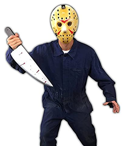 Jason Halloween fancy dress outfit M
