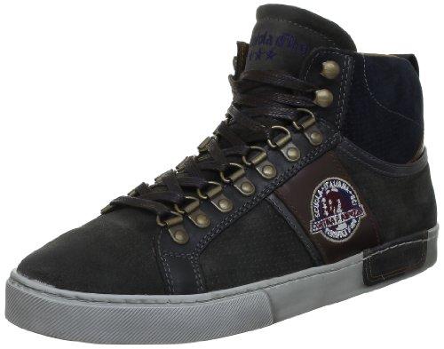 Pantofola d´Oro Macario Cortina Mid Men, Herren Halbschuhe Grau (Dark Shadow)