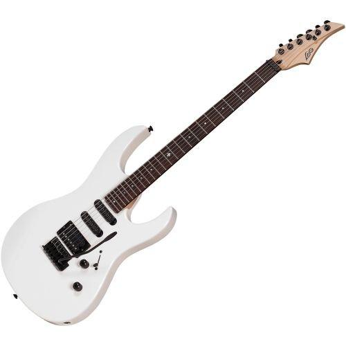 Lag–guitarras eléctricos a66-wht a66wht Neuf garantía 3años