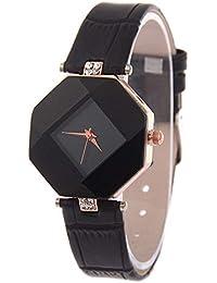 Bestow Reloj de Cuarzo de Las Se?oras del Reloj del Rhinestone de la Manera