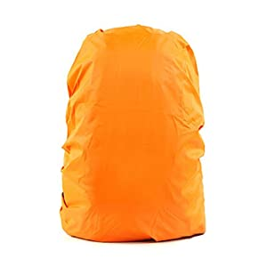 41urQbMzoyL. SS300  - Set of 2[ORANGE]Camping/Hiking Twin-side Water-proof Backpack Rain Cover,45-55L