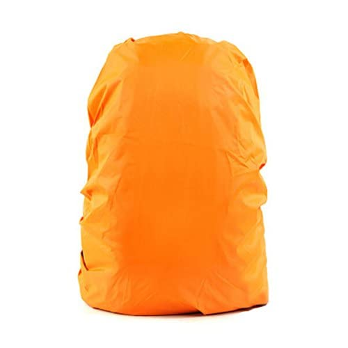Set of 2[ORANGE]Camping/Hiking Twin-side Water-proof Backpack Rain Cover,45-55L