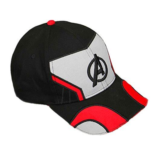 liaoting938 The Avengers Superman Shield Stickerei, Baseballkappe, Captain, Sport, Sommer, Sonnenschutz, Spandex, Trucker Hut, Cosplay Kostüm, B, ()