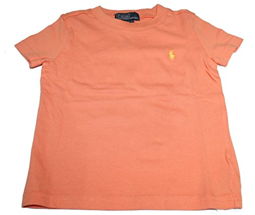 Polo_Ralph Lauren Mädchen T-Shirt Gr. 24 Monate, Orange