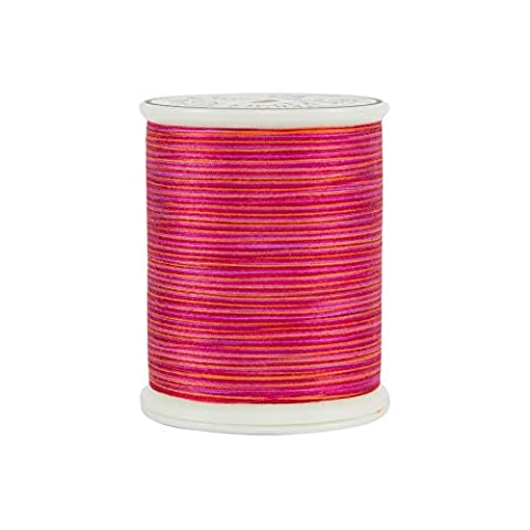 Superior Threads 12101-914 King Tut Ramses Red 3-Ply 40W Cotton Quilting Thread, 500 yd