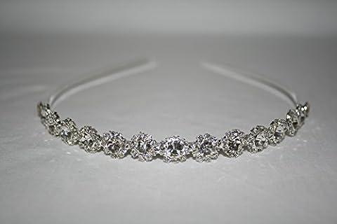 l.o.s Serre-tête perles Tiara cheveux bijoux mariage communion mariage md03