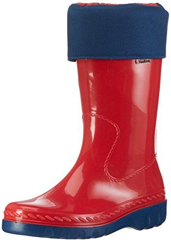 Romika Eisbär, Boots mixte enfant Rouge - Rouge (400)