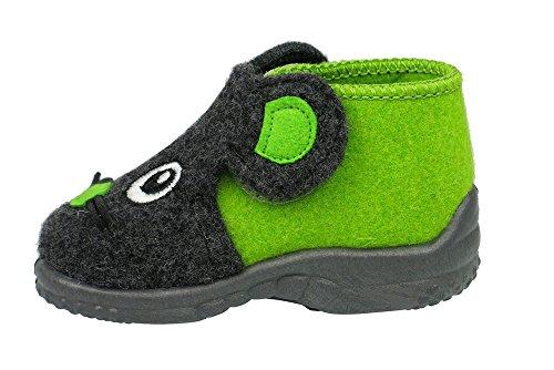 Grand chausson enfant manitu home Vert - Vert