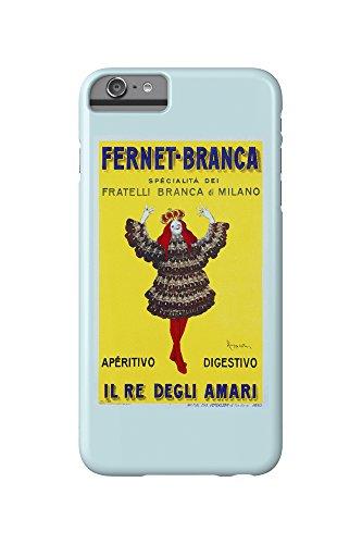 Price comparison product image Fernet - Branca - Il Re degli Amari Vintage Poster (artist: Cappiello,  Leonetto) France c. 1911 (iPhone 6 Plus Cell Phone Case,  Slim Barely There)