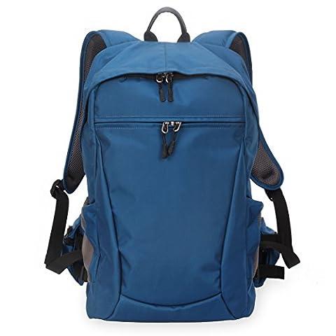 ZHEN Multifunctional Digital Photography SLR Camera Shoulder Bag , treasure blue , (l) 30*20*48cm