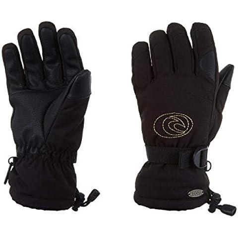 Rip Curl Rider Gloves Women, Color: Jet Black, Size: S