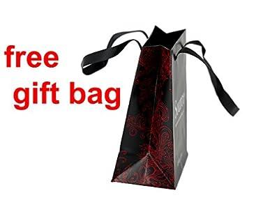 TAPORT® POKEMON Reloj de cuarzo negro correa de piel + batería de repuesto + bolsa de regalo por TAPORT®