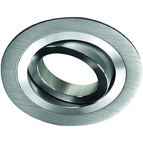 CristalRecord Helium - Foco empotrable, redondo, aluminio