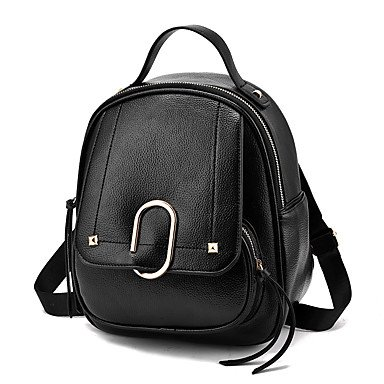 Frauen Rucksack PU alle Jahreszeiten Hochzeit Event / Party Casual Formal Outdoor Büro & Beruf Reisen Professioanl mit Schaufel ZipperNavy Blau Wine