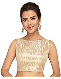 9e4d79c3cc5 Amazon.in  Golds - Blouses   Ethnic Wear  Clothing   Accessories