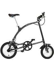 Ossby Curve - Bicicleta plegable, color grafito