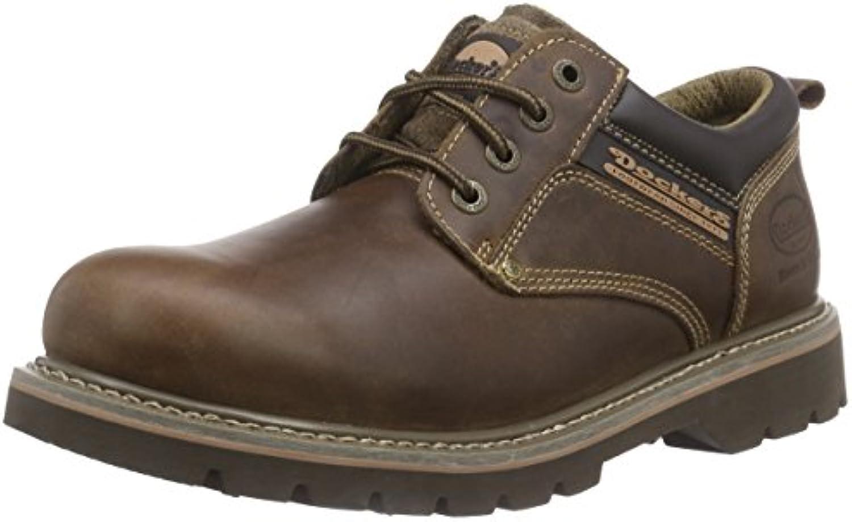 Dockers 23DA005 - Zapatos de Cordones de Cuero para Hombre -