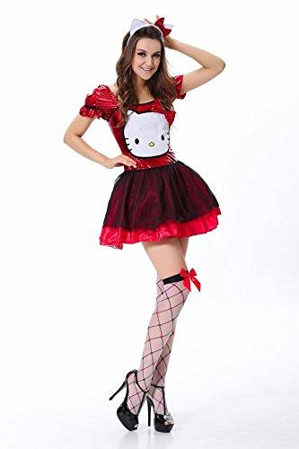 Red Kostüm Tuxedo - Gorgeous Disney Halloween-Kostüme Catwoman Rolle , red