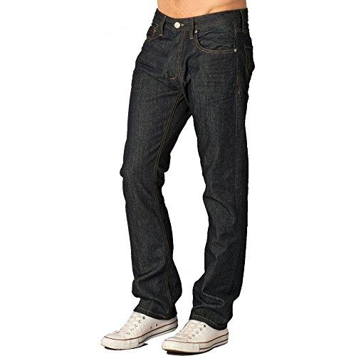 JACK & JONES CLARK AT 529 Jeans  Droit Monochrome Homme Raw Look