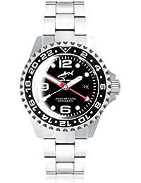 Chris Benz Deep 2000m Automatic GMT Bubble CB-2000A-D2-MB Automatic Mens Watch Diving Watch