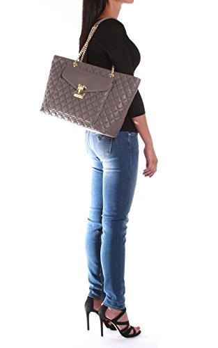 Nuova collezione Borse Donna LOVE MOSCHINO BORSE a mano con manico a catena dorata, trapuntata, chiusura con zip e bottone magnetico sul fronte, logo a vista, una tasca interna con zip Grigio