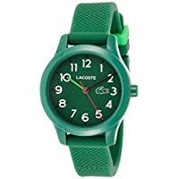 Lacoste Unisex-Kids Analogue Classic Quartz Watch with Silicone Strap 2030001