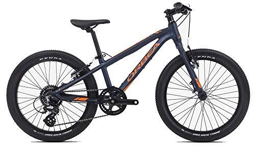 ORBEA MX 20 Team Kinderrad MTB, 8-Gang 20'', Farbe:Blau-Orange (20 Zoll Dirt Bike Reifen)