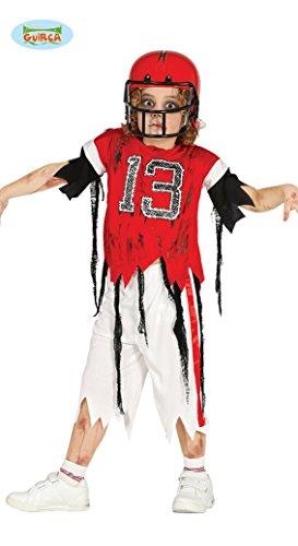Imagen de disfraz de jugador de rugby zombie para niño