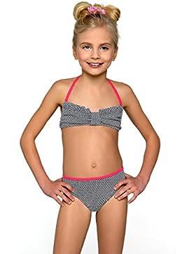 Mädchen Bikini Beachwear Badeanzug Bademode Badeanzug Größe 7–13Jahre NEU