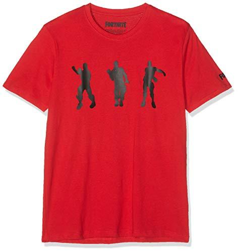 Fortnite 8791 Camiseta, Rojo Rouge, 12 años para Niños