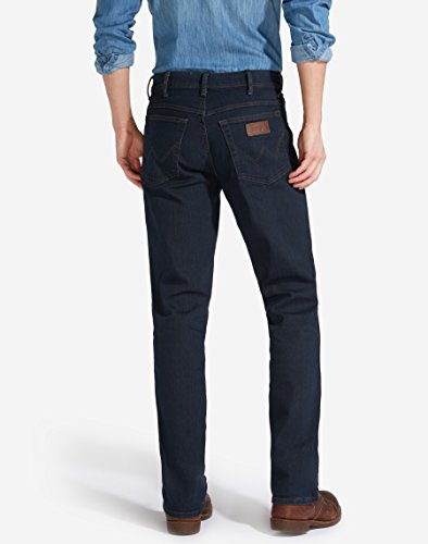 Wrangler Texas Stretch Blue Black, Jeans Homme Bleu (Blue Blue)