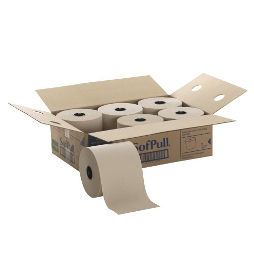 hardwound-roll-paper-towel-nonperforated-78-x-1000-ft-brown-6-ctn-sold-as-1-carton