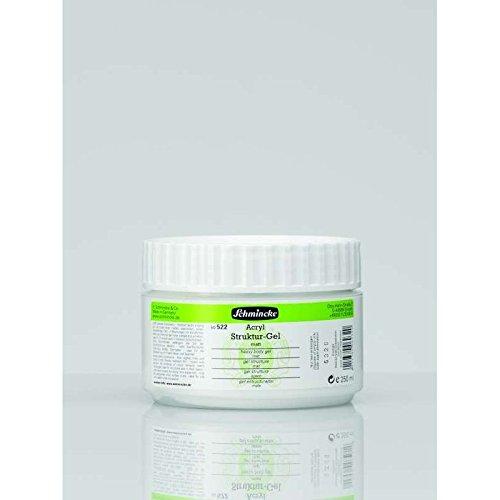 Schmincke 250ml Hilfsmittel Struktur-Gel matt Acryl 50 522 048